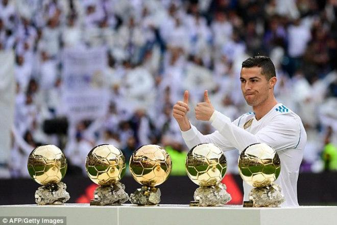 Nghịch lý: Ronaldo 5 Quả bóng Vàng vẫn không vĩ đại nhất Real - 1