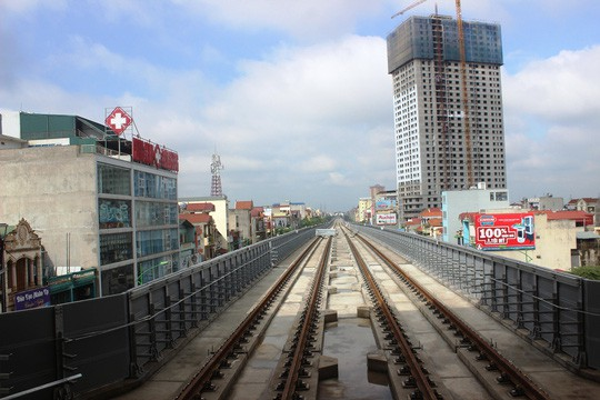"""Đường sắt Cát Linh-Hà Đông """"quá tam ba bận"""" chậm tiến độ thêm gần 1 năm - 1"""
