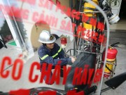 Cận cảnh xe chữa cháy siêu nhỏ, lần đầu xuất hiện ở Hà Nội