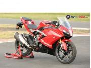 TVS Apache RR 310: Chiếc sportbike đa chức năng
