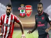"""Southampton - Arsenal:  Đại gia quyết chiến,  """" Pháo thủ """"  đắc lợi"""