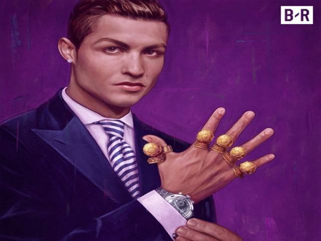 """Ronaldo 5 Quả bóng vàng tự kiêu """"nhất thiên hạ"""": Bị ghét hơn Messi"""