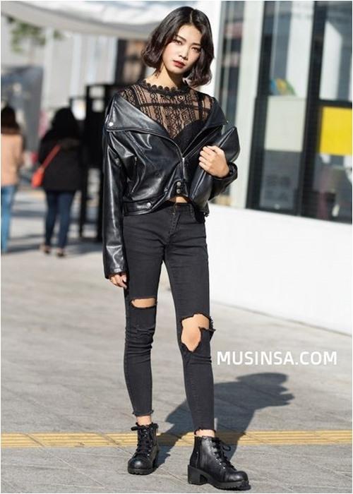 Đầu đông, con gái Hàn mặc style thể thao cực đẹp - 2