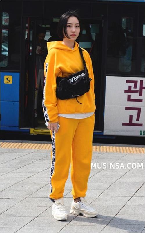 Đầu đông, con gái Hàn mặc style thể thao cực đẹp - 1