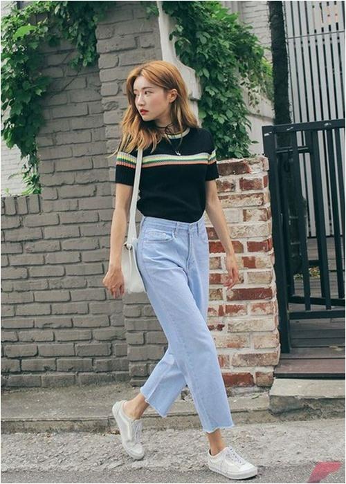 Đầu đông, con gái Hàn mặc style thể thao cực đẹp - 6