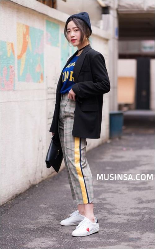 Đầu đông, con gái Hàn mặc style thể thao cực đẹp - 5