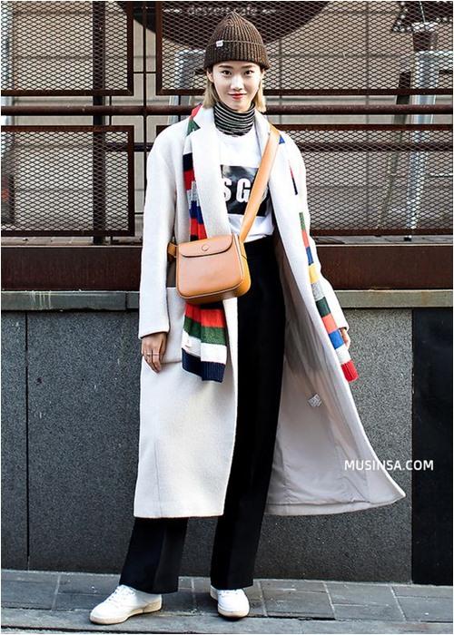 Đầu đông, con gái Hàn mặc style thể thao cực đẹp - 4
