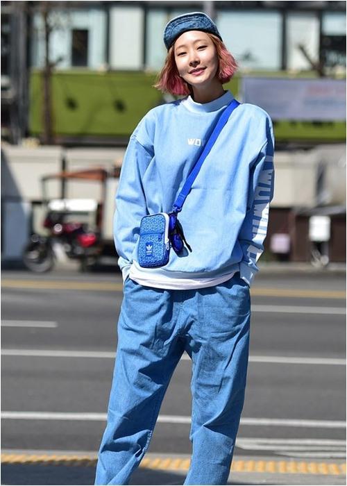Đầu đông, con gái Hàn mặc style thể thao cực đẹp - 9