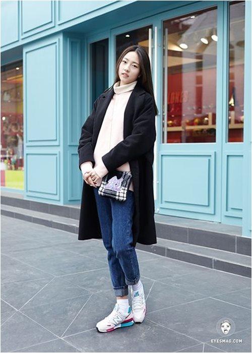 Đầu đông, con gái Hàn mặc style thể thao cực đẹp - 13
