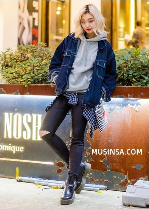 Đầu đông, con gái Hàn mặc style thể thao cực đẹp - 12
