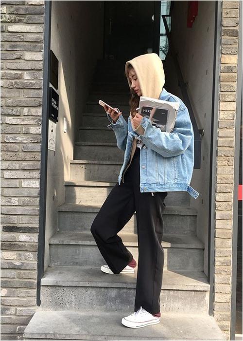 Đầu đông, con gái Hàn mặc style thể thao cực đẹp - 11