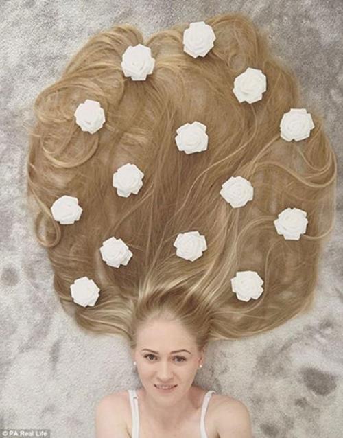 """Ngây ngất với các nàng """"công chúa tóc mây"""" xinh như mộng đời thực - 5"""