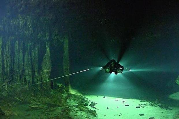 Sinh vật bí ẩn sống bên dưới thành phố ngầm của người Maya - 1