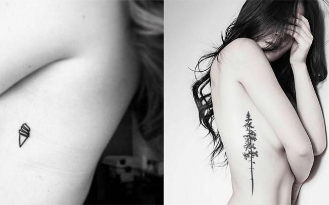 Những hình xăm ngực không phải kiểu hình xăm dành cho các cô nàng sợ định kiến.