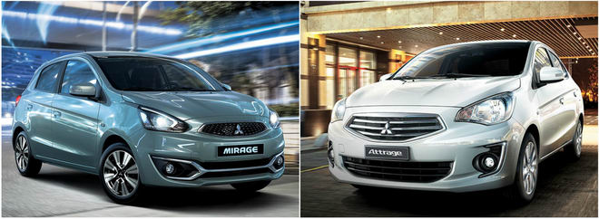 Bản Eco giá rẻ của Mitsubishi Mirage và Attrage có gì? - 1