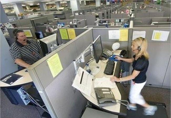 Những văn phòng làm việc kỳ dị khắp thế giới - 1