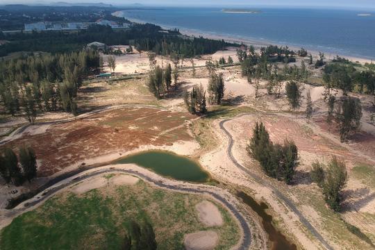 """Nhiều sai phạm ở dự án """"Phá rừng làm sân golf"""" - 1"""