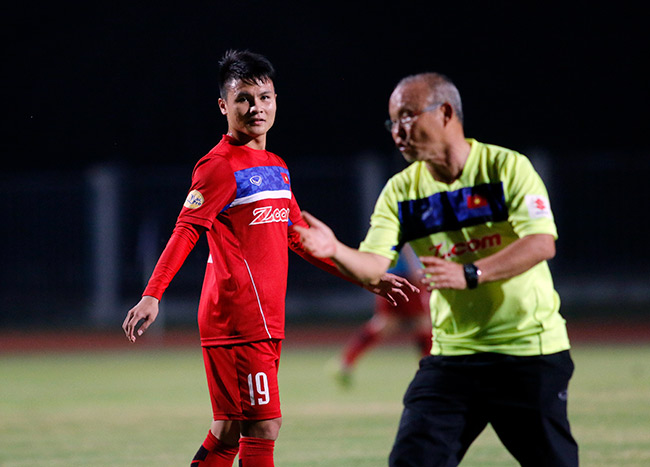 U23 Việt Nam: HLV Park Hang Seo chỉnh thước ngắm Công Phượng, Quang Hải - 7
