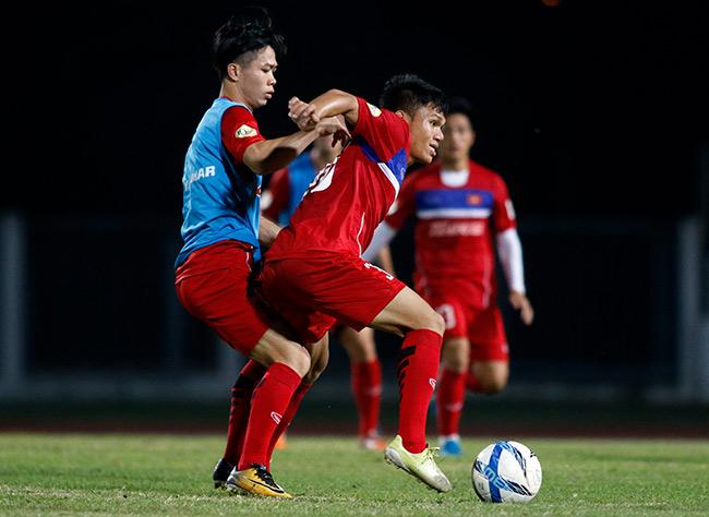 U23 Việt Nam: HLV Park Hang Seo chỉnh thước ngắm Công Phượng, Quang Hải - 9