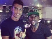"""Choáng: So kè siêu xe Mayweather - Ronaldo  """" hít khói """"  ông già 71 tuổi"""