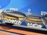 TRỰC TIẾP bốc thăm vòng 1/8 cúp C1: Man City gặp may cực lớn