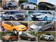 """10 mẫu ô tô  """" ế """"  nhất Việt Nam tháng 11/2017"""