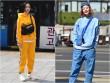 Đầu đông, con gái Hàn mặc style thể thao cực đẹp
