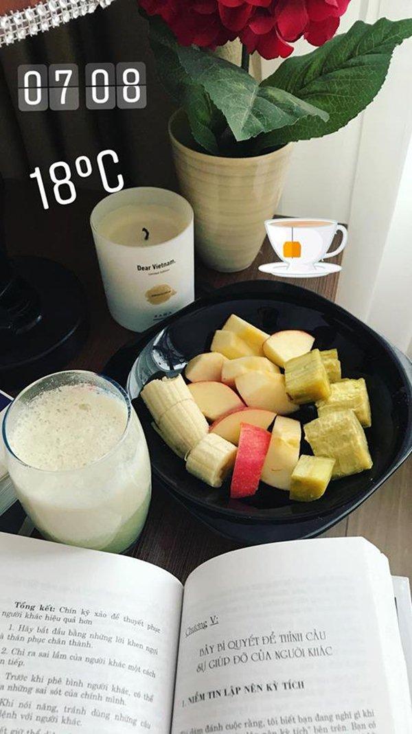 """Tuyệt chiêu làm đẹp với bữa sáng """"rẻ bèo"""" của chân dài Hà Nội - 6"""