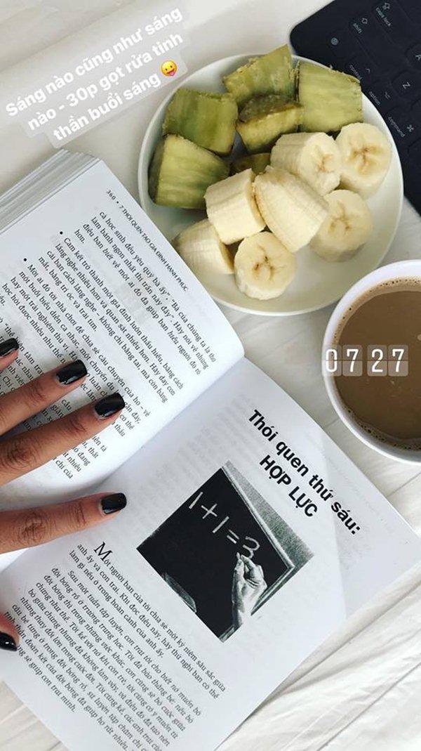 """Tuyệt chiêu làm đẹp với bữa sáng """"rẻ bèo"""" của chân dài Hà Nội - 4"""