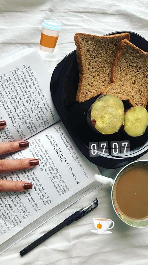 """Tuyệt chiêu làm đẹp với bữa sáng """"rẻ bèo"""" của chân dài Hà Nội - 3"""