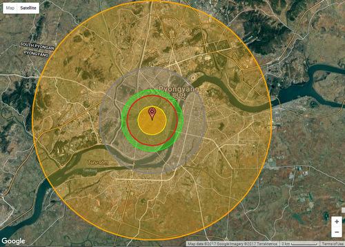 Thương vong khổng lồ nếu Mỹ giáng đòn hạt nhân thủ đô Triều Tiên - 2