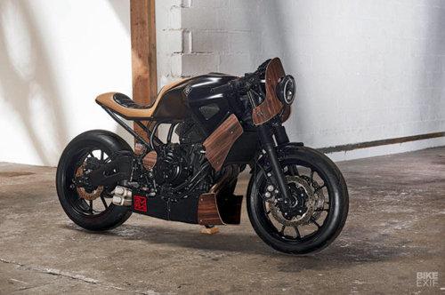Yamaha XSR700 Yard Built: Vẻ đẹp lai tạo từ chiếc guitar Revstar - 3