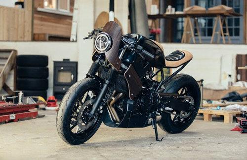 Yamaha XSR700 Yard Built: Vẻ đẹp lai tạo từ chiếc guitar Revstar - 9