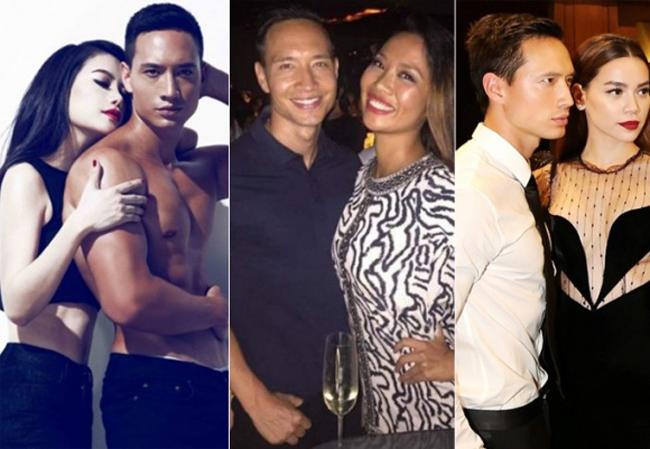Chàng Việt kiều Kim Lý số đào hoa khi trải qua những mối tình với toàn người đẹp chân dài trong showbiz.