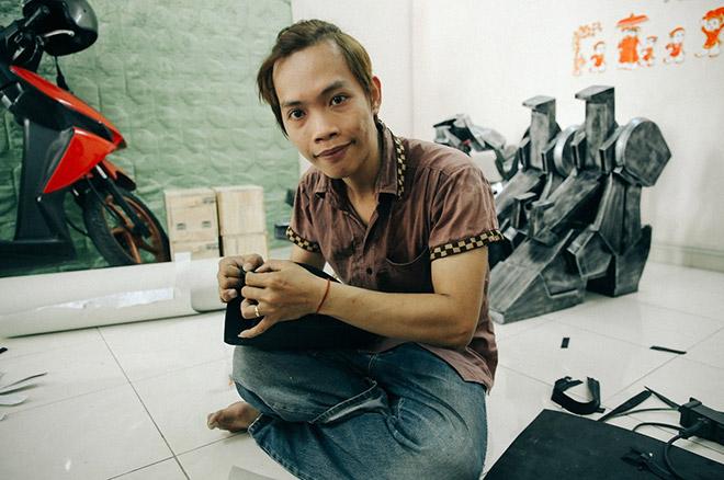 8X khuyết tật là cha đẻ của các siêu anh hùng tại Việt Nam - 1