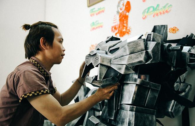 8X khuyết tật là cha đẻ của các siêu anh hùng tại Việt Nam - 2