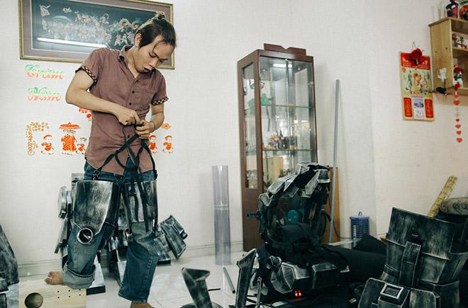 8X khuyết tật là cha đẻ của các siêu anh hùng tại Việt Nam - 6