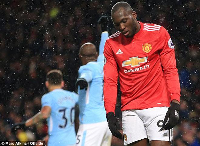"""Lukaku """"phá hoại"""" MU, tịt ngòi 12/14 trận: Mourinho phải xuống tay - 1"""