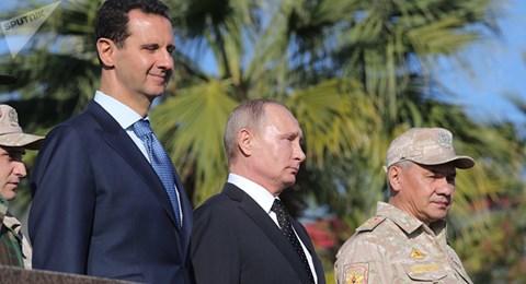 Tuyên bố rút quân đội Nga khỏi Syria, Tổng thống Putin muốn gì? - 1