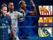 """Real  &  Barca đâm  """" cung đường tử thần """" , Liga hết thống trị cúp C1?"""