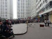 HN: Nam thanh niên nhảy từ lầu 29 khu đô thị Xa La xuống đất