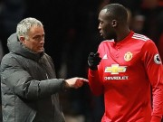 Lukaku  phá hoại  MU, tịt ngòi 12/14 trận: Mourinho phải xuống tay
