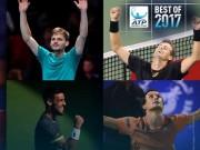 """5 """"cú sốc"""" tennis 2017: Federer, Nadal đầu bảng nỗi thất vọng"""