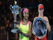 """"""" Kẻ thống trị """"  Serena trở lại: Trả hận Sharapova, giật ngôi hậu Halep"""