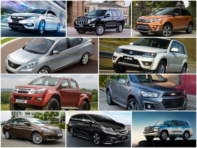 Top 10 mẫu ô tô bán chậm nhất Việt Nam tháng 11/2017 - 1