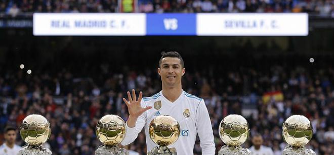 """Chân sút hay nhất châu Âu: Ronaldo 5 Bóng vàng """"mất hút"""", Messi quá đỉnh - 1"""