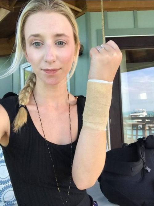 Thót tim cô dâu bị cá mập tấn công khi đi tuần trăng mật - 3
