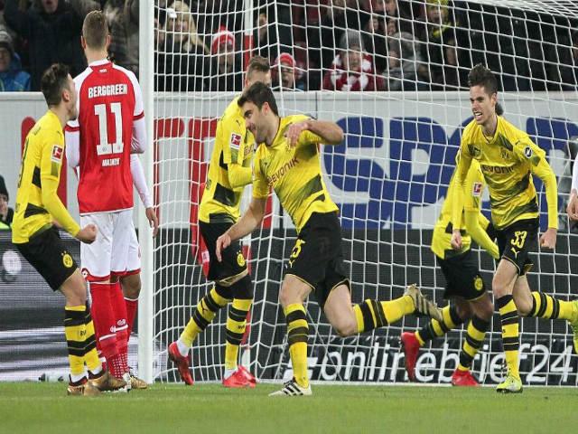 Video, kết quả bóng đá Mainz - Dortmund: Vô lê đập đất & cú ra chân kết liễu