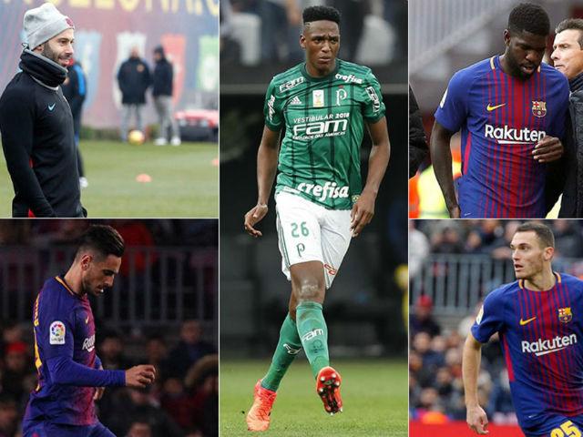 """Barca gặp đại họa hàng thủ, """"siêu nhân"""" Messi khó cứu"""