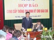 Thông tin mới nhất vụ mất hồ sơ của Trịnh Xuân Thanh